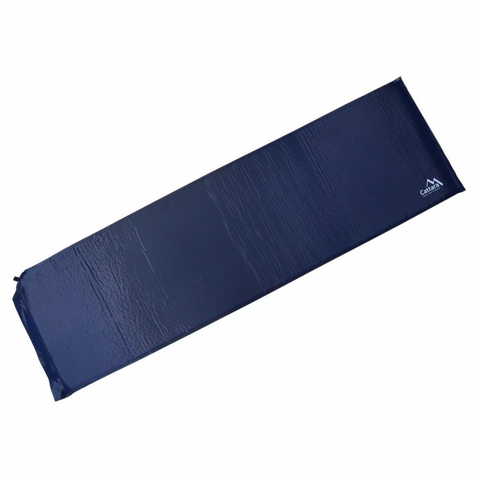 Cattara Samonafukovací karimatka modrá , 186 x 53 x 2,5 cm