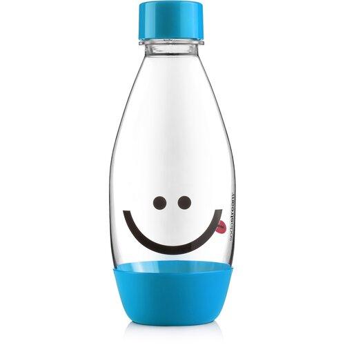 SodaStream Detská fľaša Smajlík 0,5 l, modrá