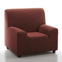 Pokrowiec multielastyczny na fotel Petra czerwony