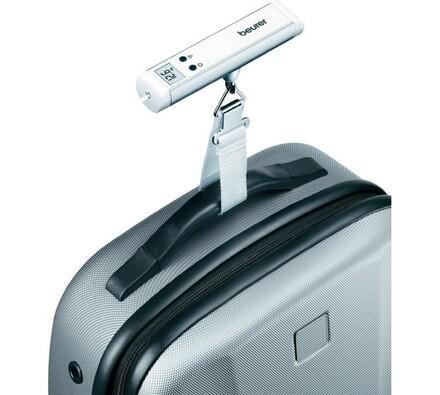 Váha na zavazadla Beurer LS-10, stříbrná