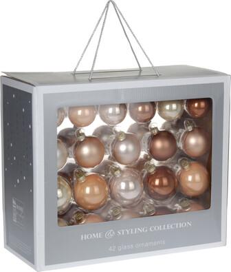 Vánoční koule box 42 kusů