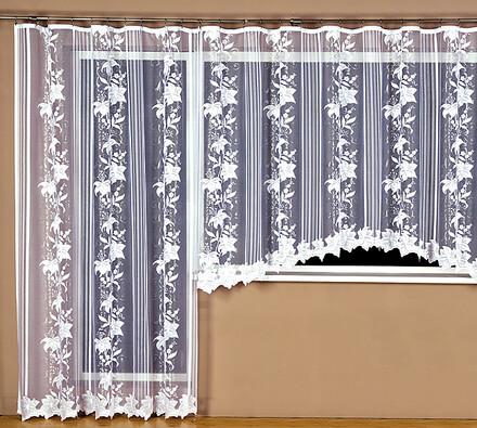 Hotová žakárová záclona Liliana, 350 x 175 cm