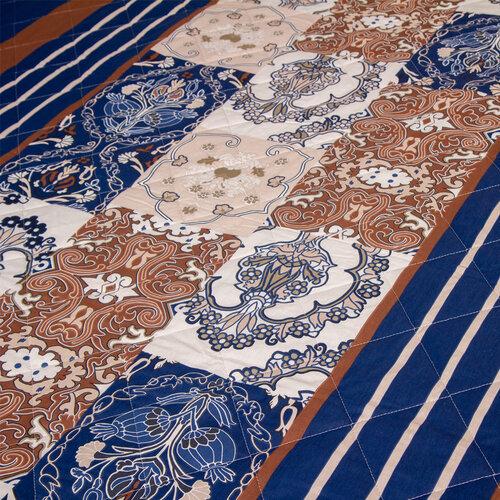 Cuvertură de pat Paolina albastră, 160 x 220 cm