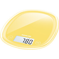 Sencor SKS 36YL waga kuchenna, żółty