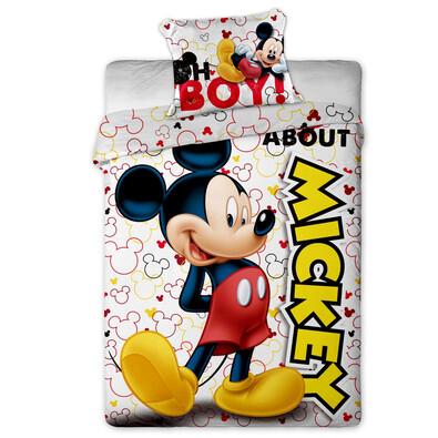 Dětské povlečení Mickey micro, 140 x 200 cm, 70 x 90 cm