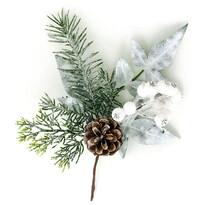 Gałązka świąteczna Soria, 25 cm