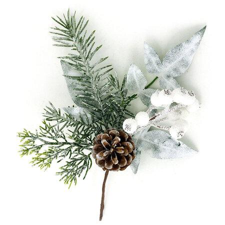 Soria karácsonyi ág, 25 cm