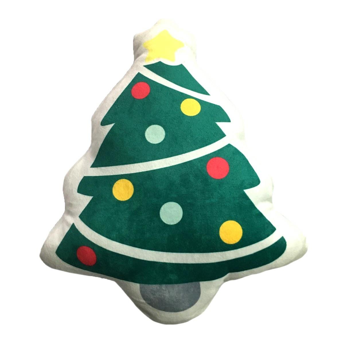 Domarex Vianočný tvarovaný vankúšik Stromček, 30 cm