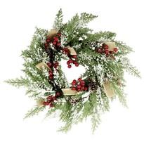 Karácsonyi koszorú Varilla átmérő 40 cm