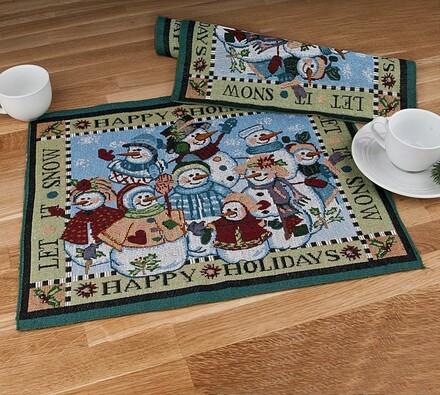 Prostírání Stoklasa 37 x 47 cm vánoční motivy 3, s, vícebarevná, 37 x 47 cm