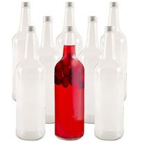Orion Sada sklenených fliaš s viečkom Spirit 0,5 l, 8 ks