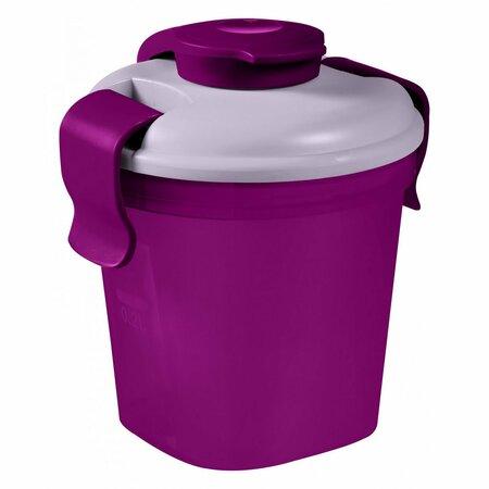 Curver Dóza na potraviny LUNCH&Go 0,4 l, fialová