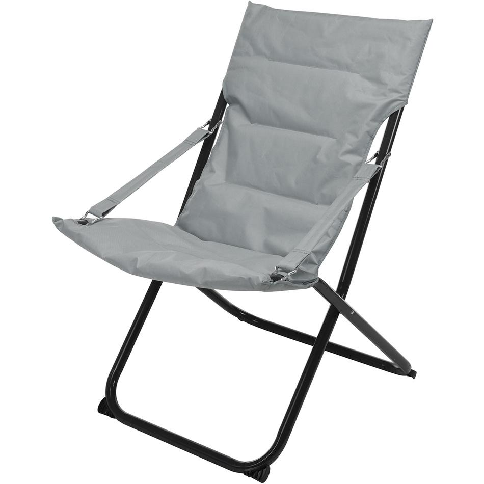 Skládací židle, šedá