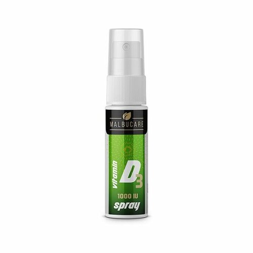 Malbucare Spray Vitamín D3 1000IU, 15 ml