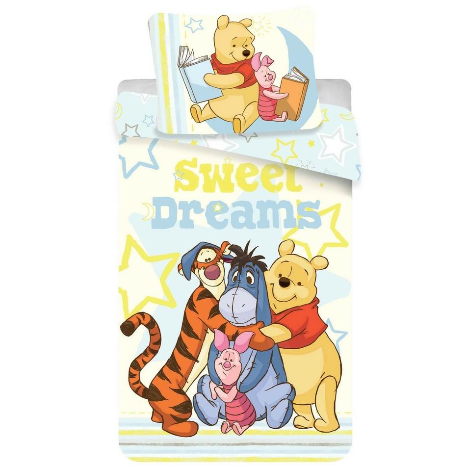WTP Sweet Dreams gyermek pamut ágynemű, 140 x 200 cm, 70 x 90 cm