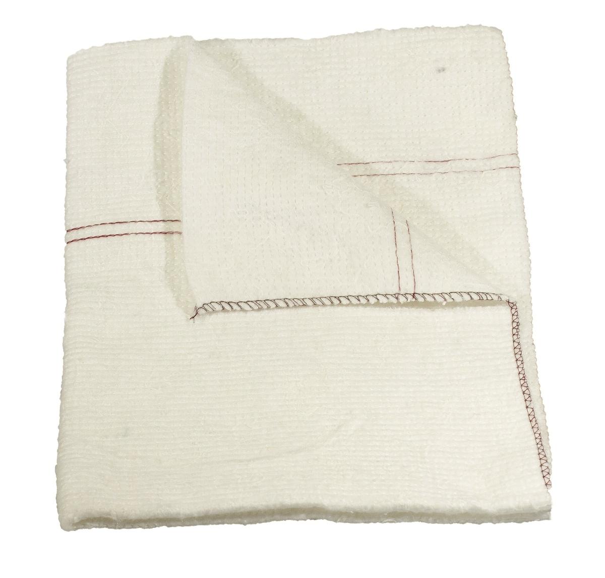 Handra na podlahu netkaná 60 x 70 cm, biela,
