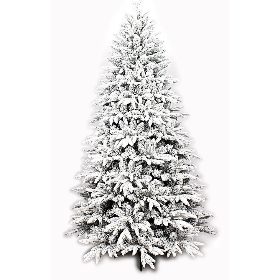 Vánoční zasněžený stromek se stojánkem Cardiff, 150 cm
