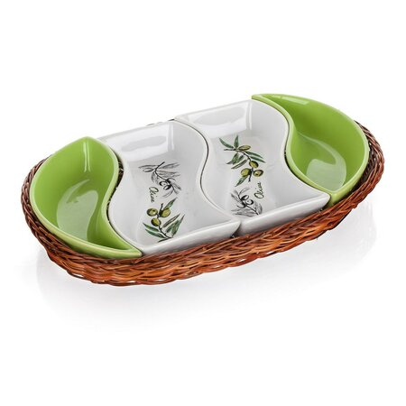 Banguet Servírovacie misy v košíku Olives 30,5 cm