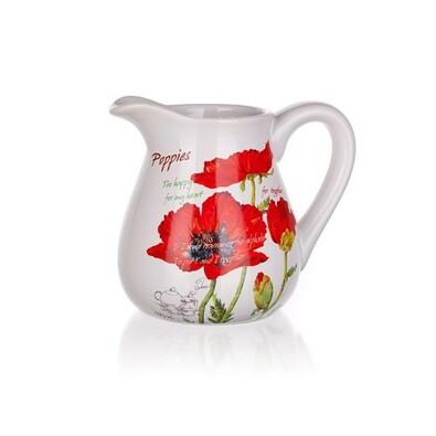 BANQUET Red Poppy džbánek