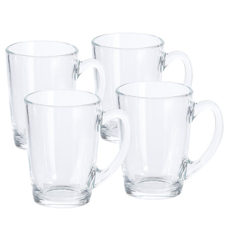 Set cești din sticlă Excellent 320 ml, 4 buc.