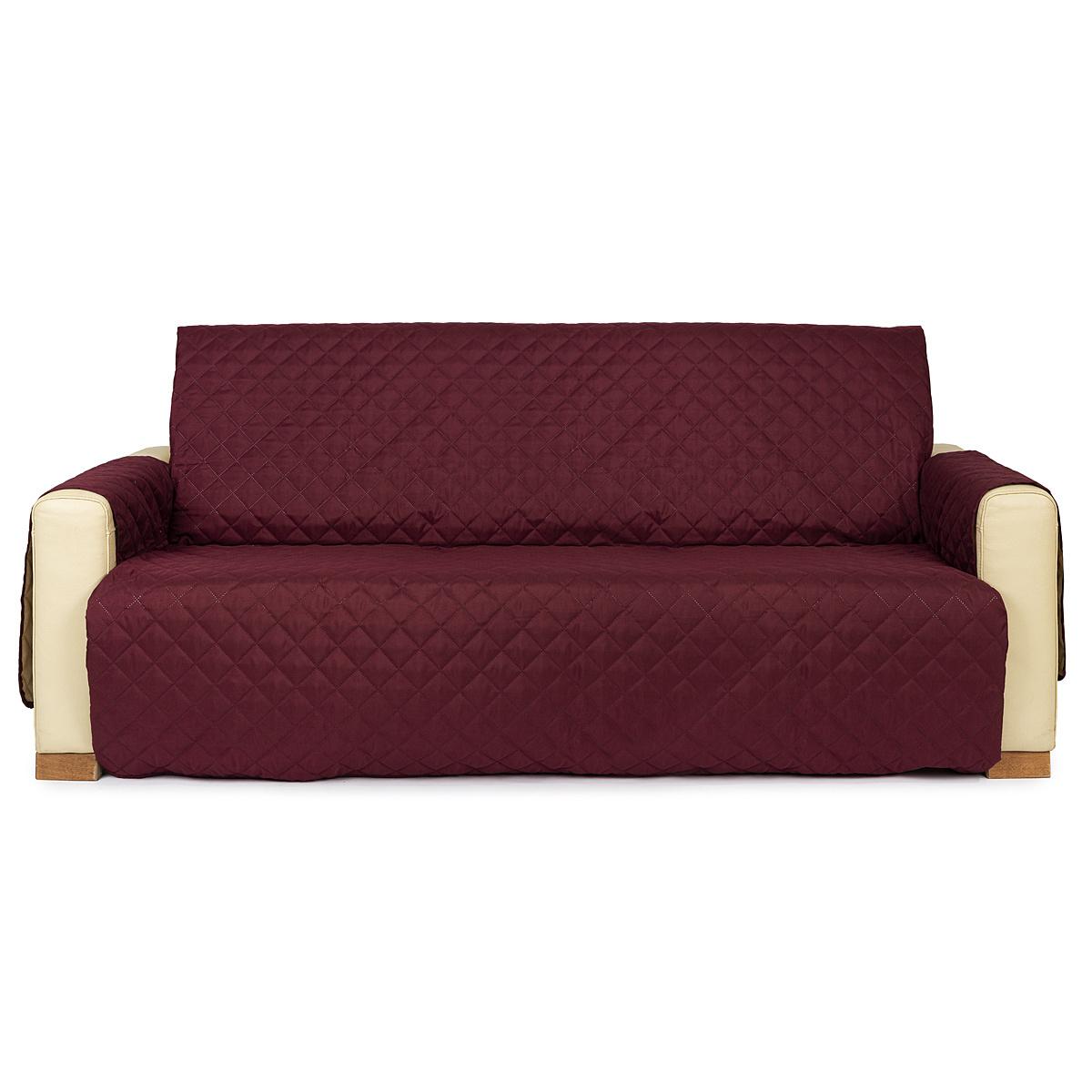 4Home Přehoz na sedací soupravu Doubleface bordó/béžová, 180 x 220 cm