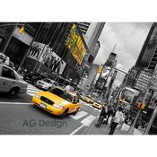 Plakát žlutý taxík 160 x 115 cm