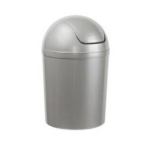 Aldo Kosmetický odpadkový koš Swing 5 l, stříbrná