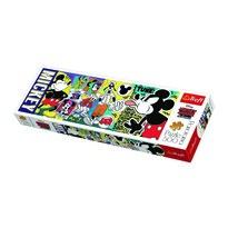 Trefl Panoramatické puzzle Legendární Myšák Mickey, 500 dílků