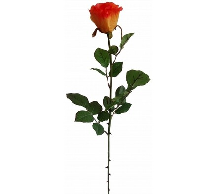 Umělá oranžová růže