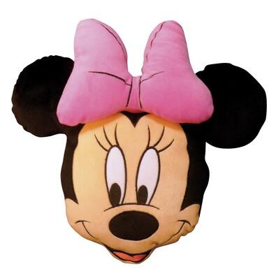 Polštářek Minnie Stylish Rose 3D, 38 cm