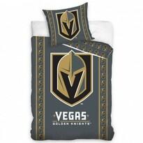 Bavlnené obliečky NHL Vegas Golden Knights Stripes, 140 x 200 cm, 70 x 90 cm