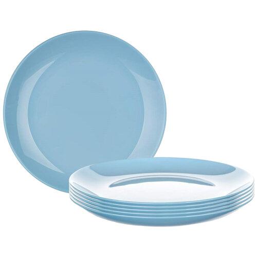 Luminarc Talerz deserowy DIWALI 19 cm, 6 szt., niebieski