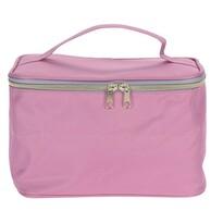 Geantă cosmetică Playa roz, 23,5 x 14,5x 15,5 cm