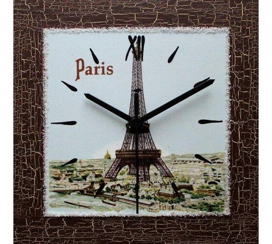 Nástenné hodiny Eiffelovka