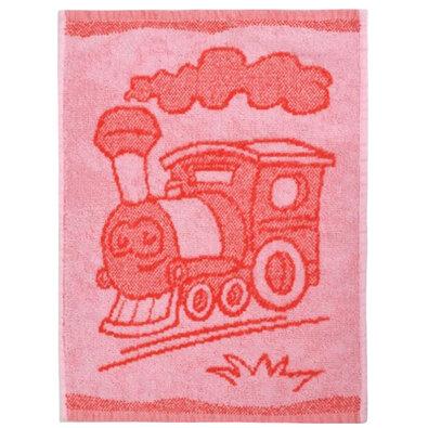 Dětský ručník Train red, 30 x 50 cm