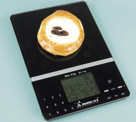 Multifunkční kuchyňská váha