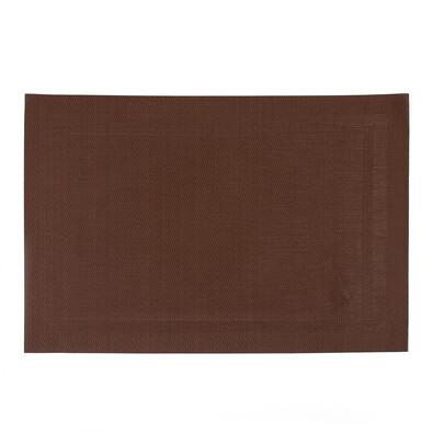 Prostírání PVC hnědá, 45 x 30 cm