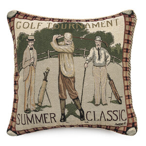 Polštářek Ornament Golf, 43 x 43 cm