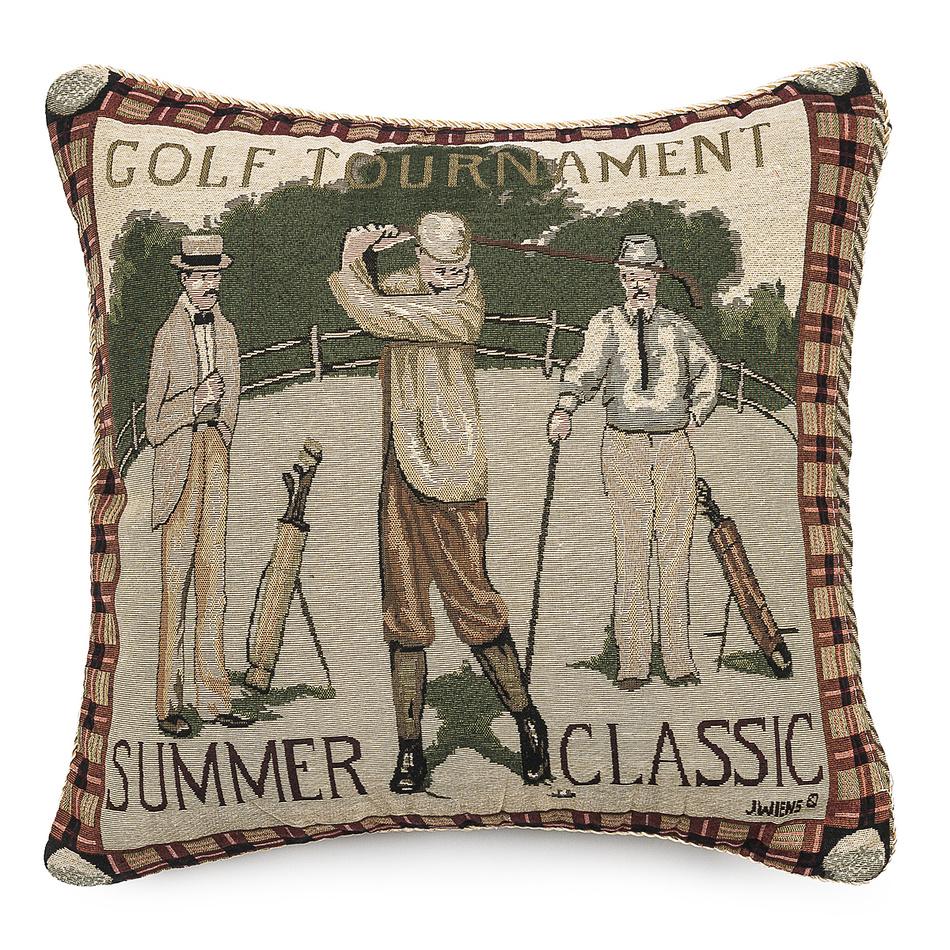 Forbyt Vankúšik Ornament Golf, 43 x 43 cm