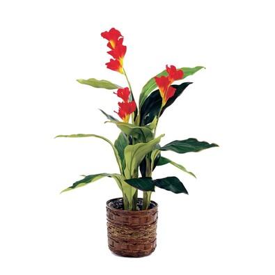 Umělá květina v květináči Canna