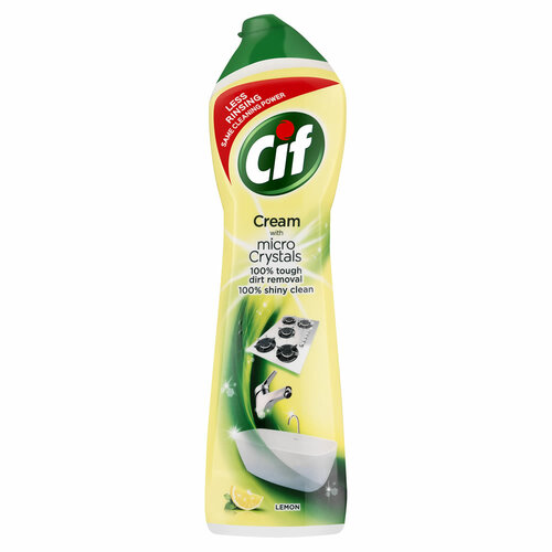 Cif Cream Lemon tekutý piesok 500 ml
