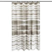Sprchový závěs Romance šedá, 180 x 180 cm