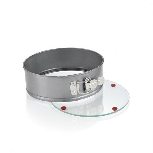 Tescoma Forma na tortu rozkladacia DELÍCIA so skleneným dnom, 28 cm