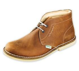 Pánská kotníčková obuv, hnědá, 44