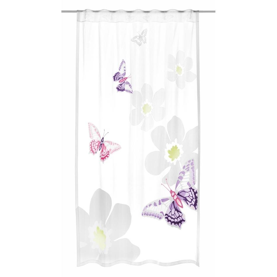 Albani Dětská záclona Motýli, 140 x 245 cm