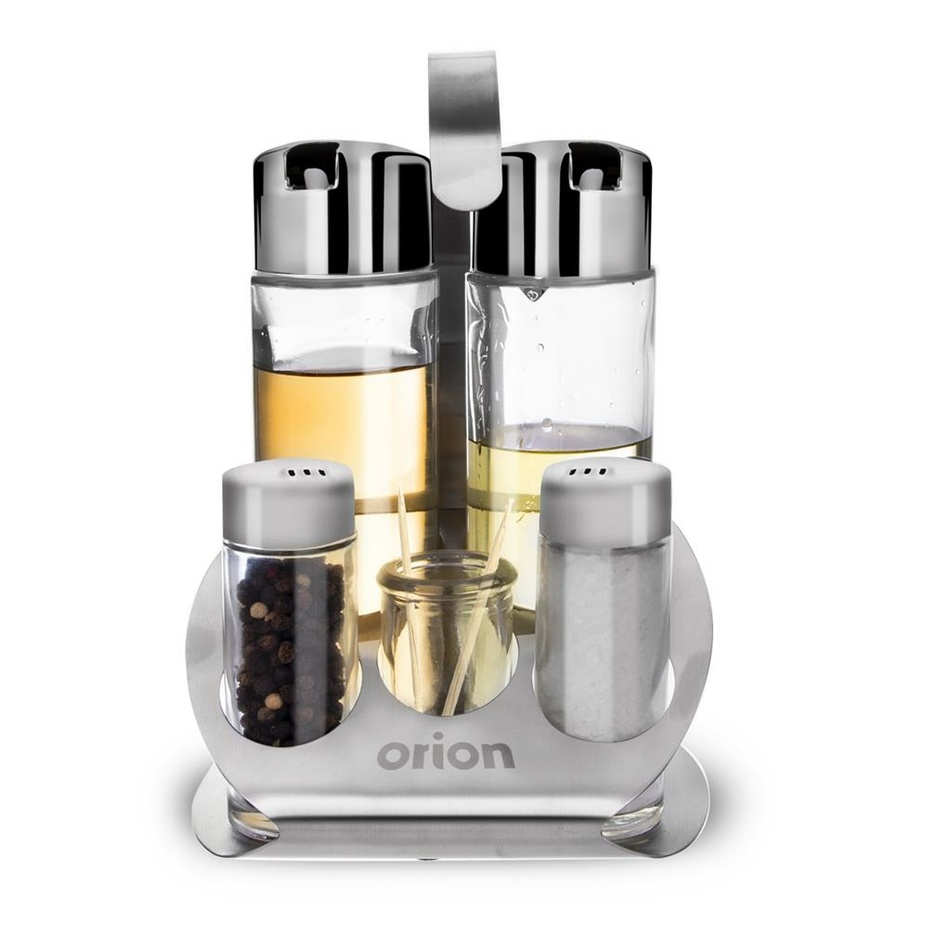 Orion Dochucovacia súprava sklo/nerez 5+1 MATT