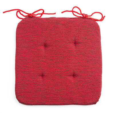 Sedák Paris červená, 36 x 36 cm