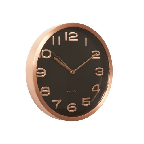 Karlsson KA5578BK zegar ścienny, 29 cm