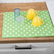 Podložka na nádobí Ultra zelená, 40 x 48 cm