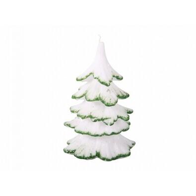 Lumânare de Crăciun Brăduț, verde